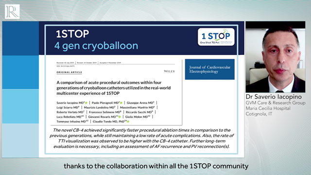 The use and impact of the 1STOP ClinicalServiceProject on patients treated with the Medtronic Cryoballoon