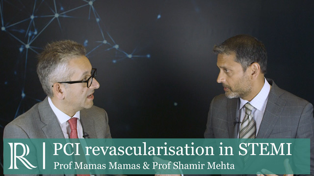 ESC 2019 - Complete revascularisation with multi-vessel PCI in STEMI - Prof Mamas Mamas and Prof Shamir Mehta