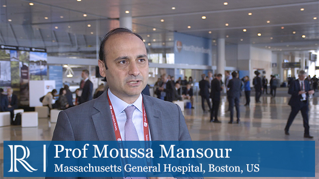 HRS 2018: Lower Adherence Direct Oral Anticoagulants - Prof Moussa Mansour