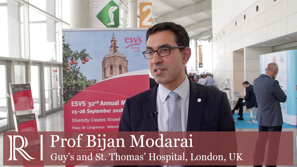 ESVS 2018: Radiation risk and reduction strategies - Prof Bijan Modarai