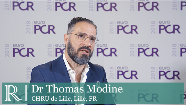 EuroPCR 2018: First-Generation VitaFlow TAVI Valve - Dr Thomas Modine