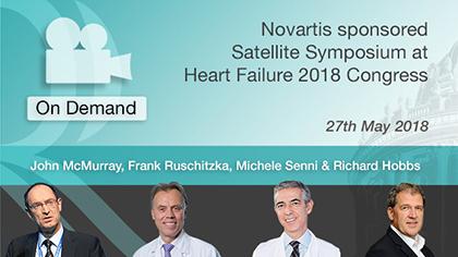 Novartis sponsored Satellite Symposium at Heart Failure 2018 Congress