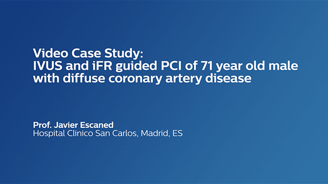 IVUS And IFR-Guided PCI Of 71-Year Old Male