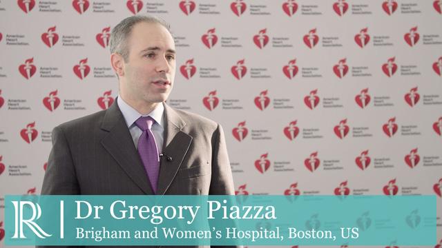 AHA 2018: AF-ALERT - Dr Gregory Piazza