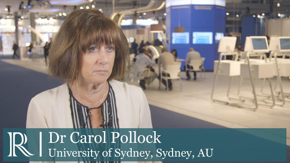 EASD 2019 : CREDENCE Trial - Prof Carol Pollock