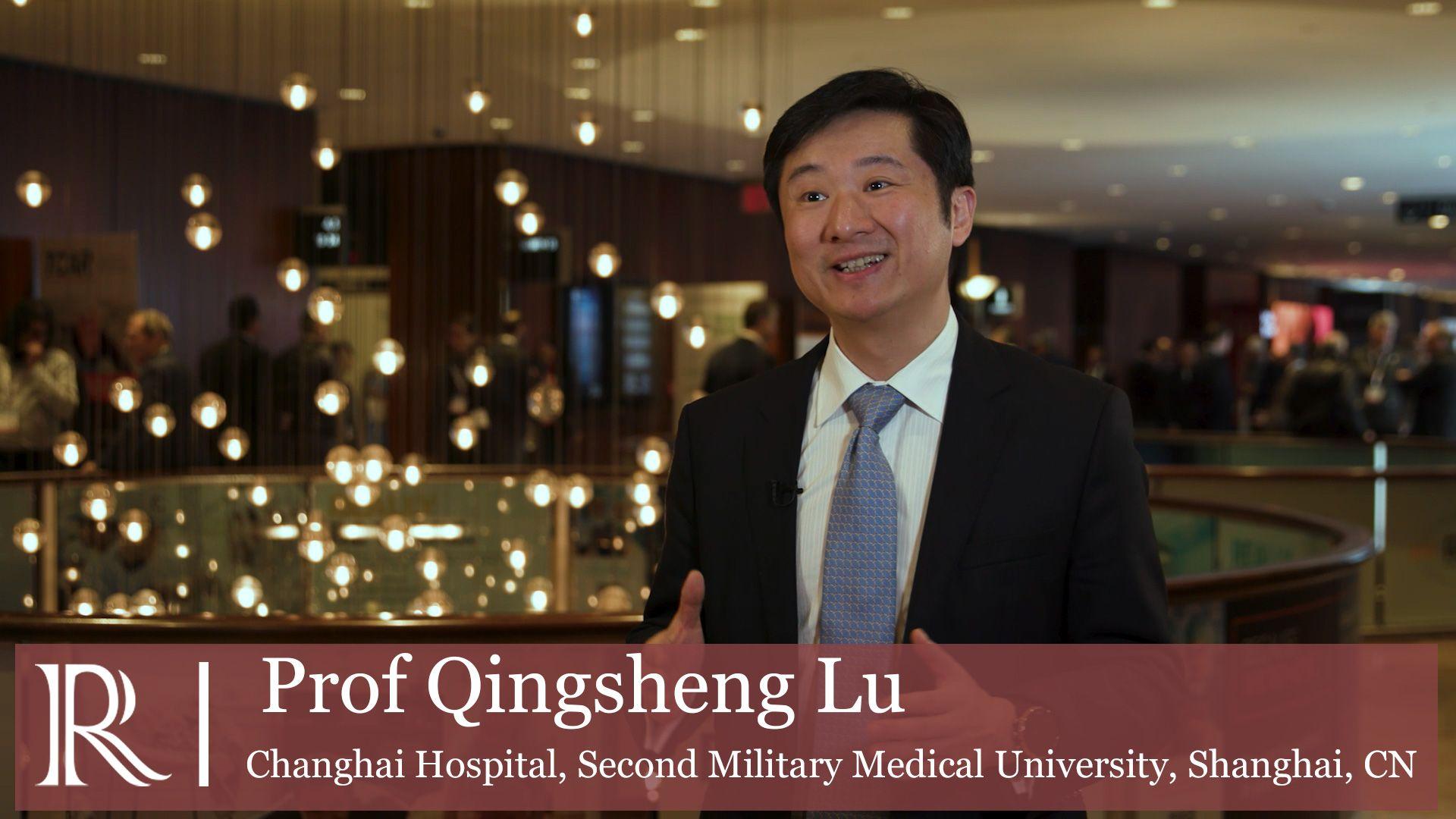 VEITHsymposium™ 2019: Vascular Robotics — Prof Qingsheng Lu