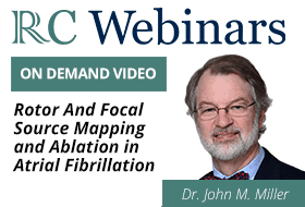 Rotor And Focal Source Mapping And Ablation In AF - Dr. John M. Miller