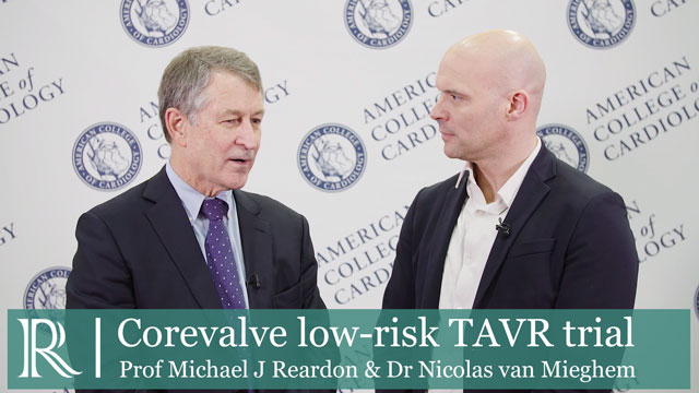 ACC 2019: Corevalve low-risk TAVR trial