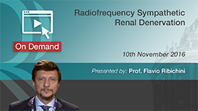 Radiofrequency Sympathetic Renal Denervation Performed by Professor Flavio Ribichini