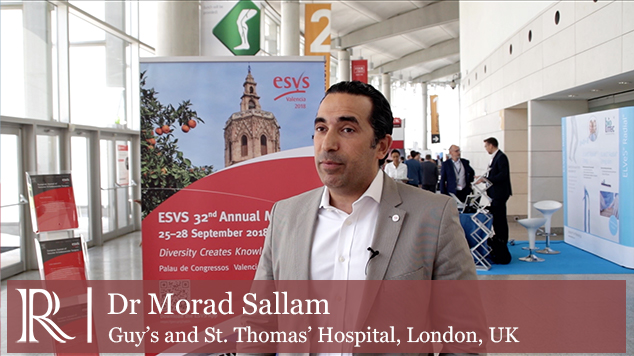 ESVS 2018: Novel treatment strategies for infected stent grafts - Mr Morad Sallam