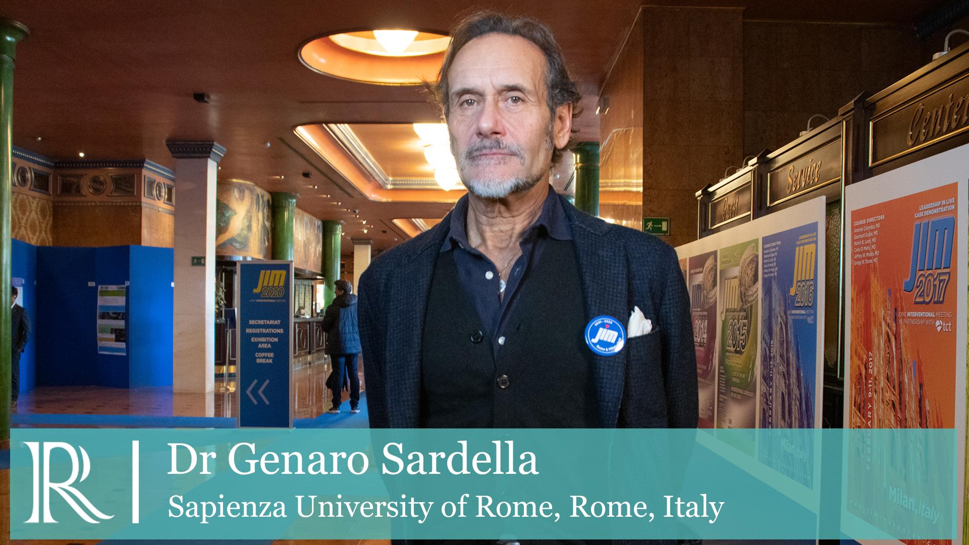 JIM 2020: Onyx ONE study — Dr Gennaro Sardella