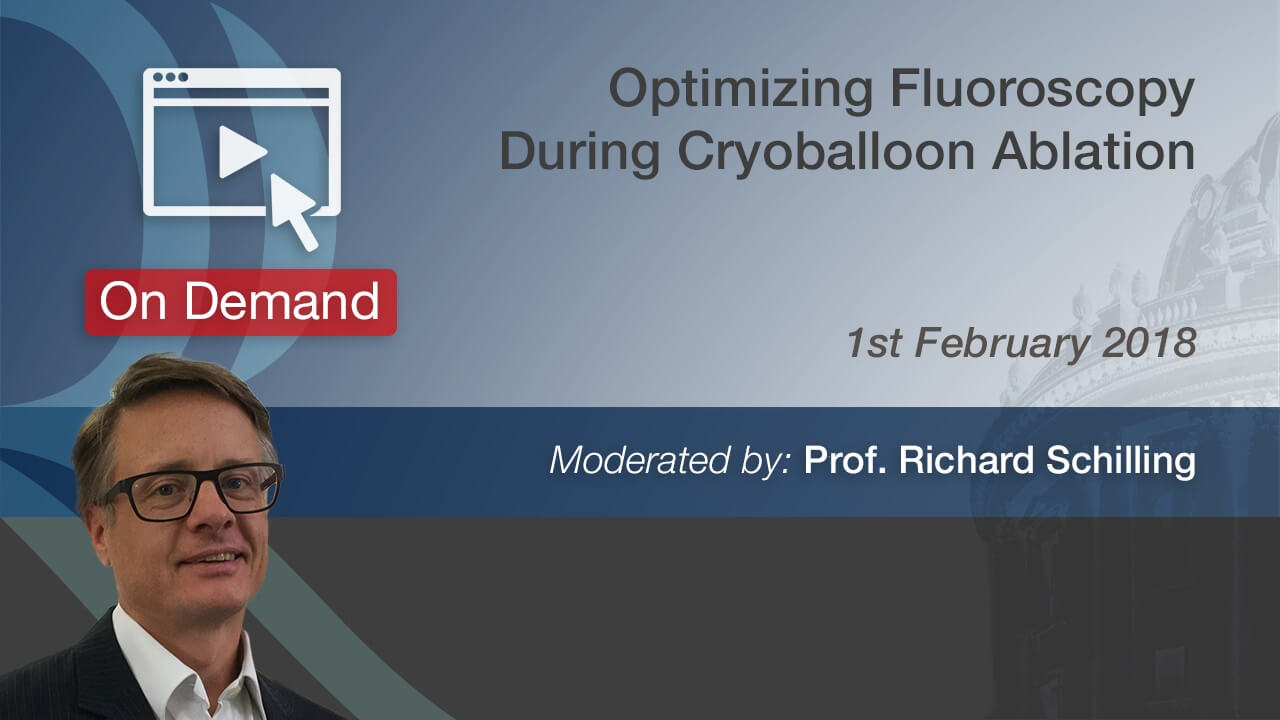 Fluoroscopy Cryoballoon Ablation