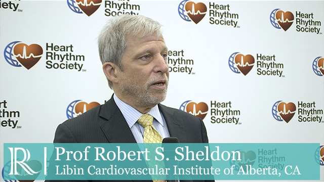 HRS 2018: Pacemaker Vs Cardiac Monitor - Prof Robert S. Sheldon