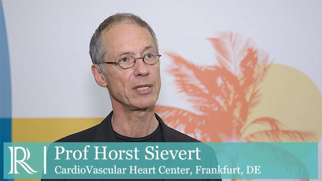 TCT 2018: REDUCE-FMR - Prof Horst Sievert