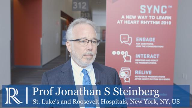 HRS 2019: ERADICATE- AF Trial - Prof Jonathan S Steinberg