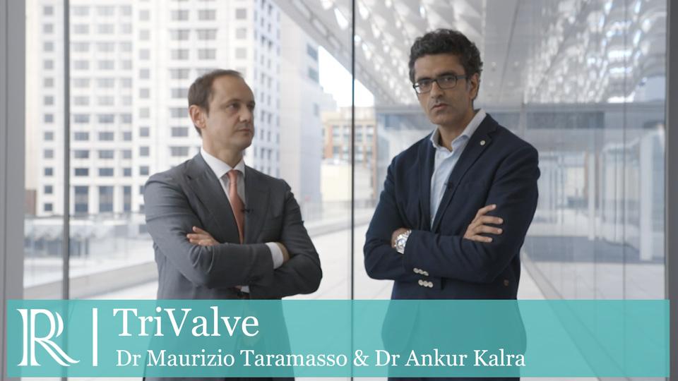 TCT 2019 : TriValve - Dr Maurizio Taramasso and Dr Ankur Kalra