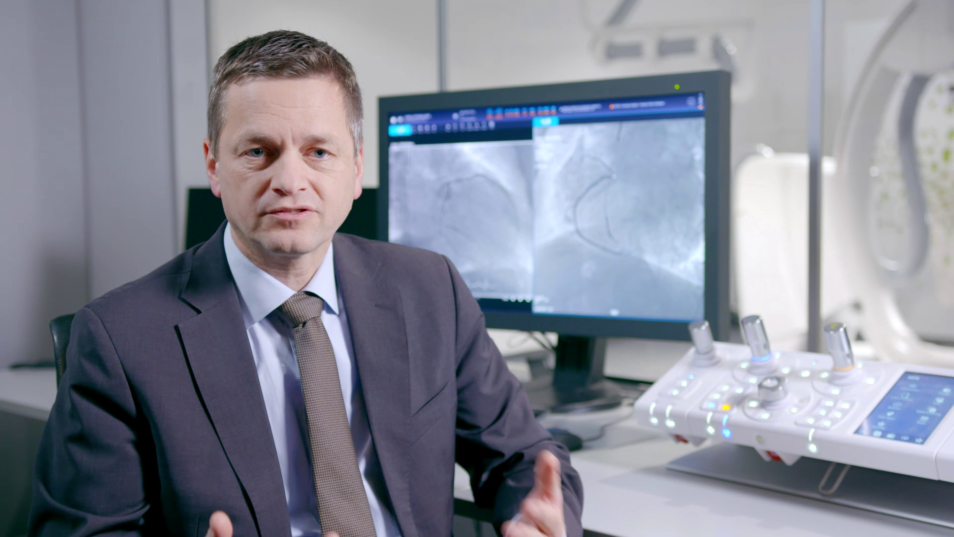 Professor Stephan Achenbach on trends in interventional cardiology
