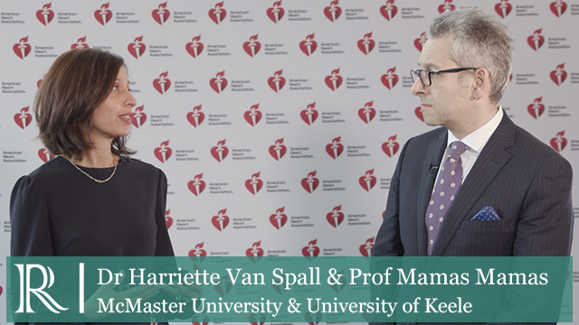 AHA 2019: Late Breaking Science Highlights — Dr Harriette Van Spall and Prof Mamas Mamas