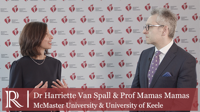 AHA 2019: Update from the PACT-HF Study – Dr Harriette Van Spall & Dr Mamas Mamas