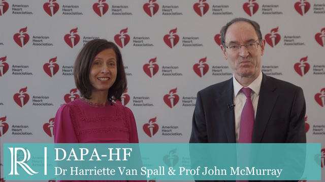 AHA 2019: DAPA-HF - Dr Harriette Van Spall & Prof John McMurray