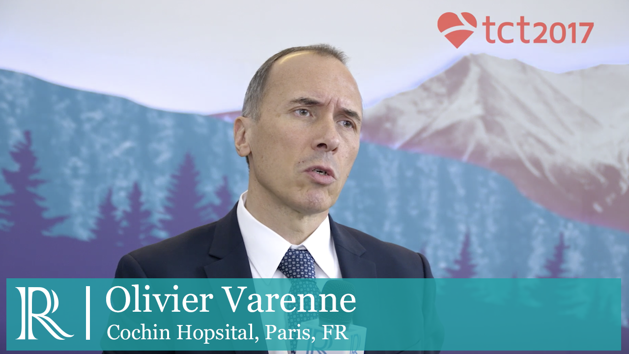 Dual Antiplatelet Therapy With Synergy II Stent In Patients Older Than 75 Years interview with Olivier Varenne