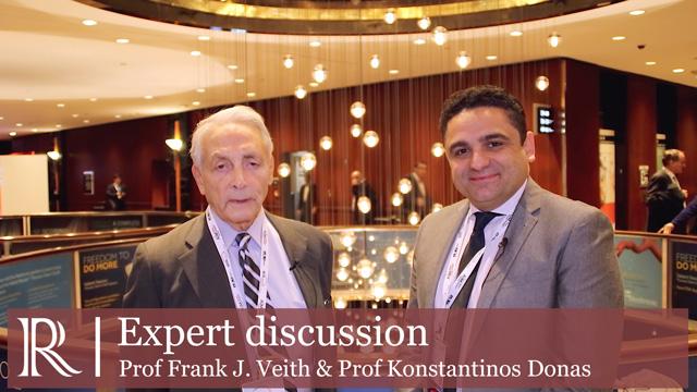 eith 2018: Chimney EVAR - Prof Frank J. Veith & Prof Konstantinos Donas