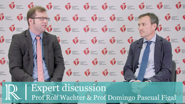 AHA 2018: Initiating sacubitril/valsatan in the hospital - Prof Rolf Wachter & Prof Domingo A. Pascual Figal