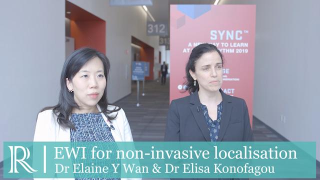 HRS 2019 : EWI Non-invasive localisation - Elaine Y Wan & Elisa Konofagou