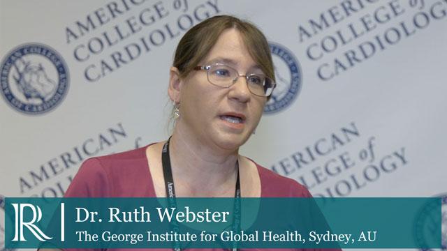ACC 2018: TRIUMPH - Dr Ruth Webster