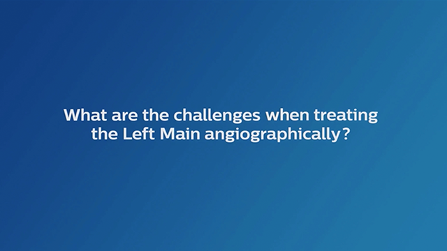 What Are The Challenges When Treating Left Main Angiographically?