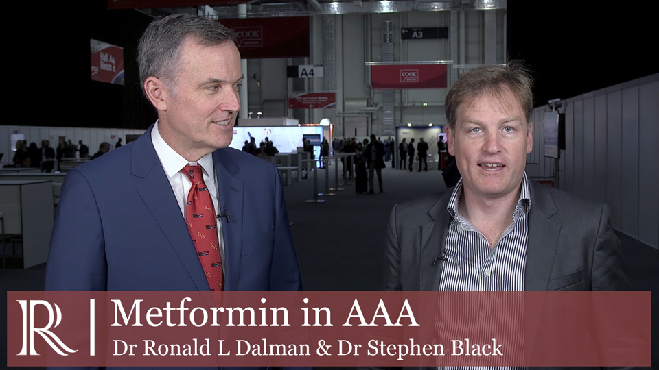 ESVS 2019: Effect of prescription of Metformin on AAA - Dr Ronald L Dalman and Dr Stephen Black
