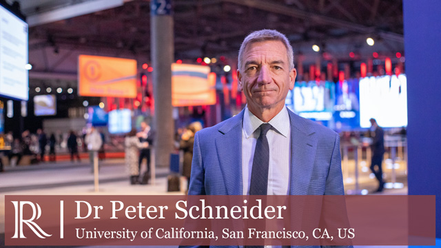 LINC 2020: Paclitaxel exposure and dosage of DCBs for the treatment of PAD — Dr Peter Schneider