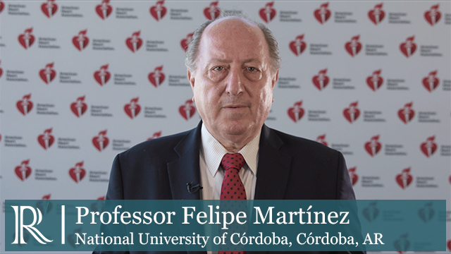 AHA 2019 - DAPA-HF Treatment According to Age - Prof Felipe Martínez