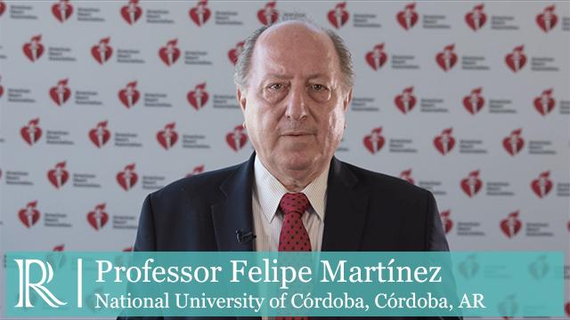 AHA 2019 - DAPA-HF Treatment According to Age - Prof Felipe Martínez