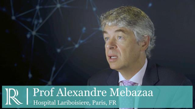 ESC 2019: Circulating dipeptidyl peptidase-3 - Dr Alexandre Mebazaa
