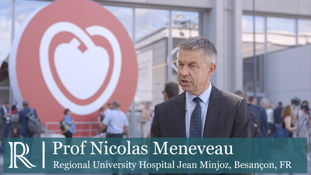ESC 2019 - Changes to ESC guidelines for high-risk pulmonary embolism patients - Dr Nicolas Meneveau