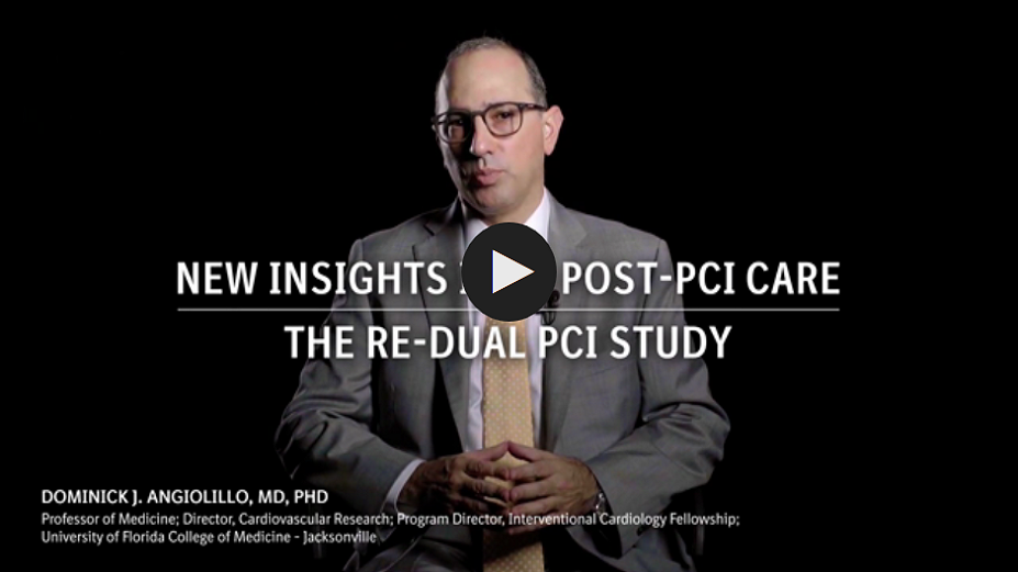 New Insights into Post-PCI Care the RE-DUAL PCI Study