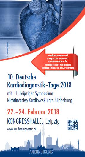 10th German Kardiodiagnostik Day 2018