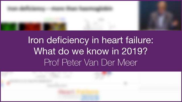 Iron deficiency in heart failure