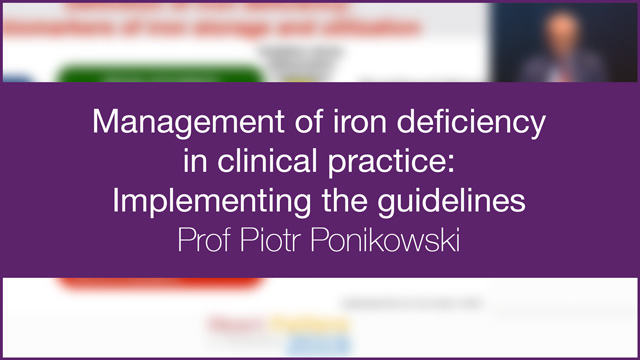 Management of iron deficiency in clinical practice