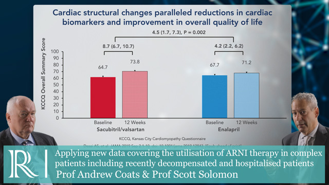 Commentary on the PROVE-HF and the EVALUATE-HF trials-Prof Andrew Coats & Prof Scott Solomon