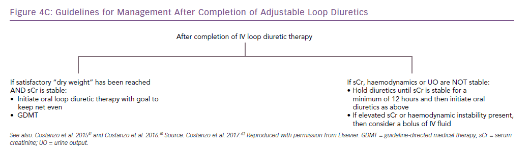 Guidelines for Management After Completion of Adjustable Loop Diuretics