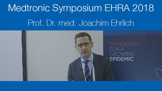 Medtronic Symposium EHRA 2018 - Prof. Dr. med. Joachim Ehrlich