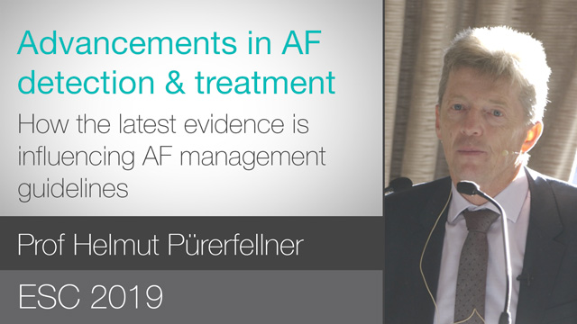 How the latest evidence is influencing ESC AF management guidelines