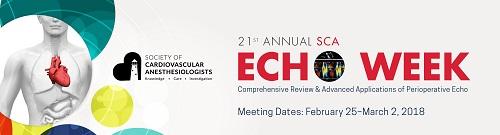 SCA Echo Week 2018