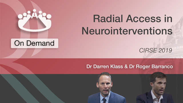 Radial Access in Neurointerventions