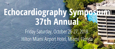 37th Annual Echocardiography Symposium 2018