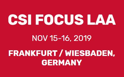 CSI Focus LAA 2019