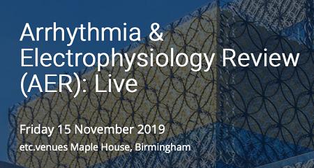 AER: Live - Update on Arrhythmia Management
