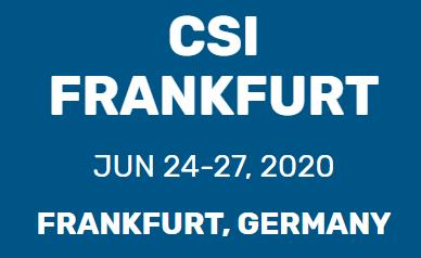 CSI Frankfurt 2020